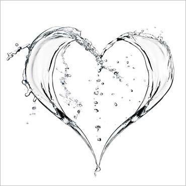 coeur d'eau, C.Porchez