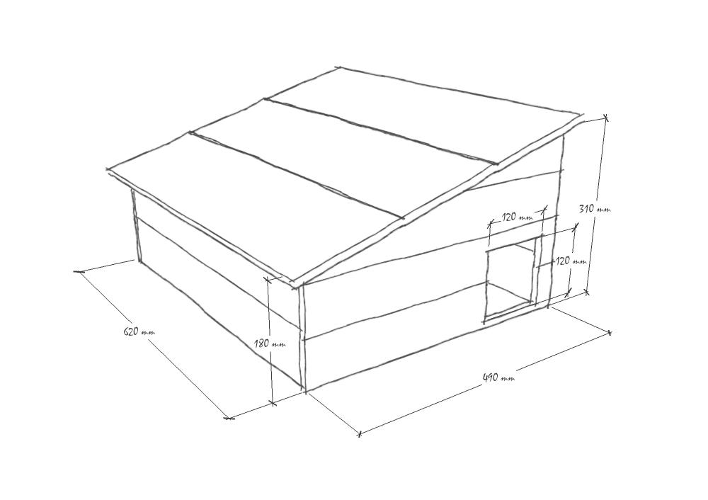 une cabane pour les h rissons maman des champs. Black Bedroom Furniture Sets. Home Design Ideas