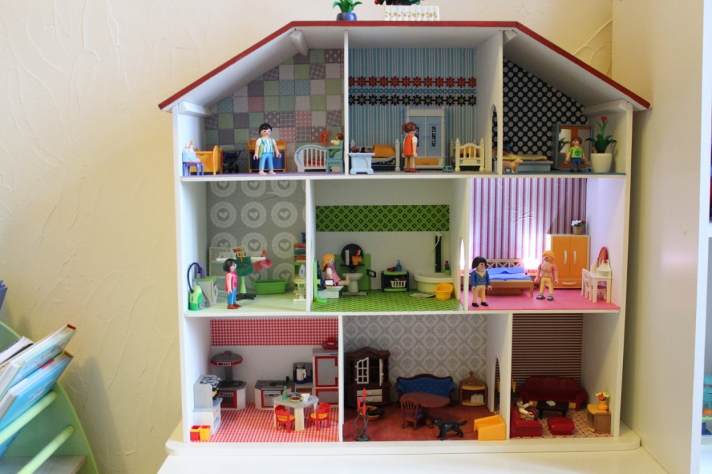 La maison playmobil maman des champs for Meubles de la maison