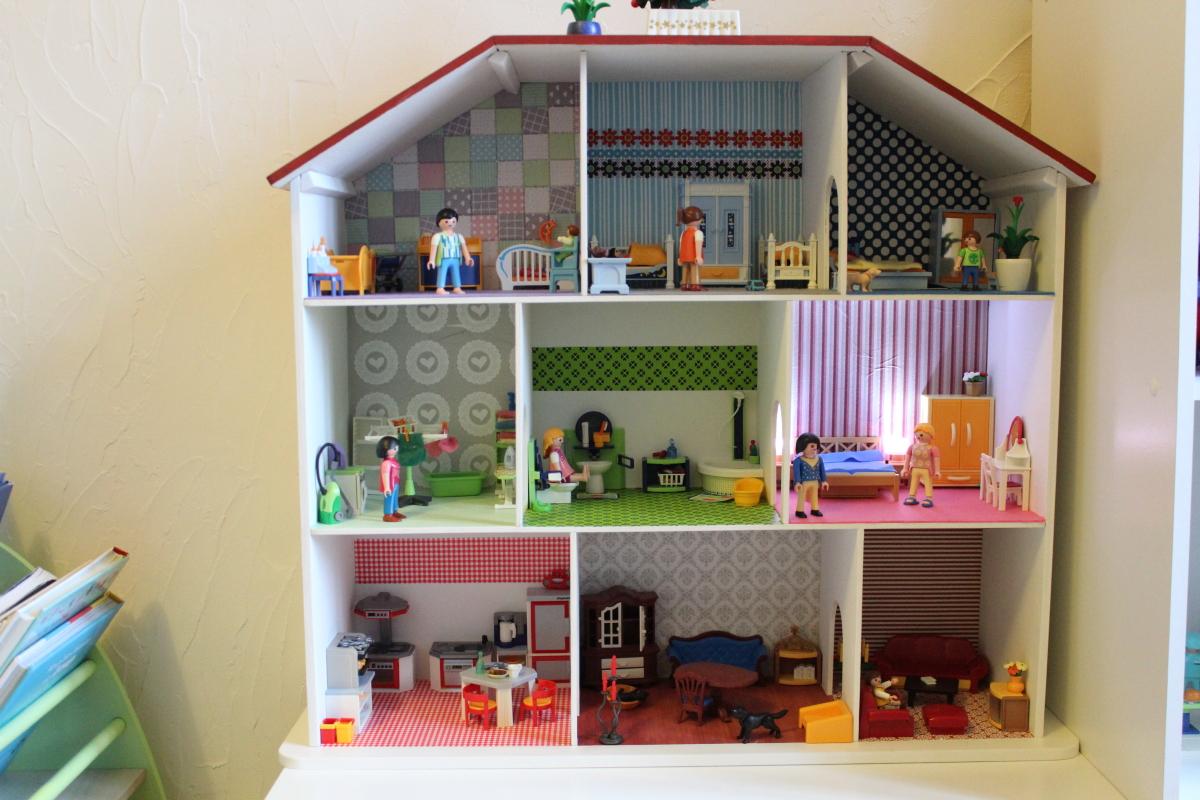 Une Salle De Bain Dans La Chambre : La Maison Playmobil ! Maman des Champs