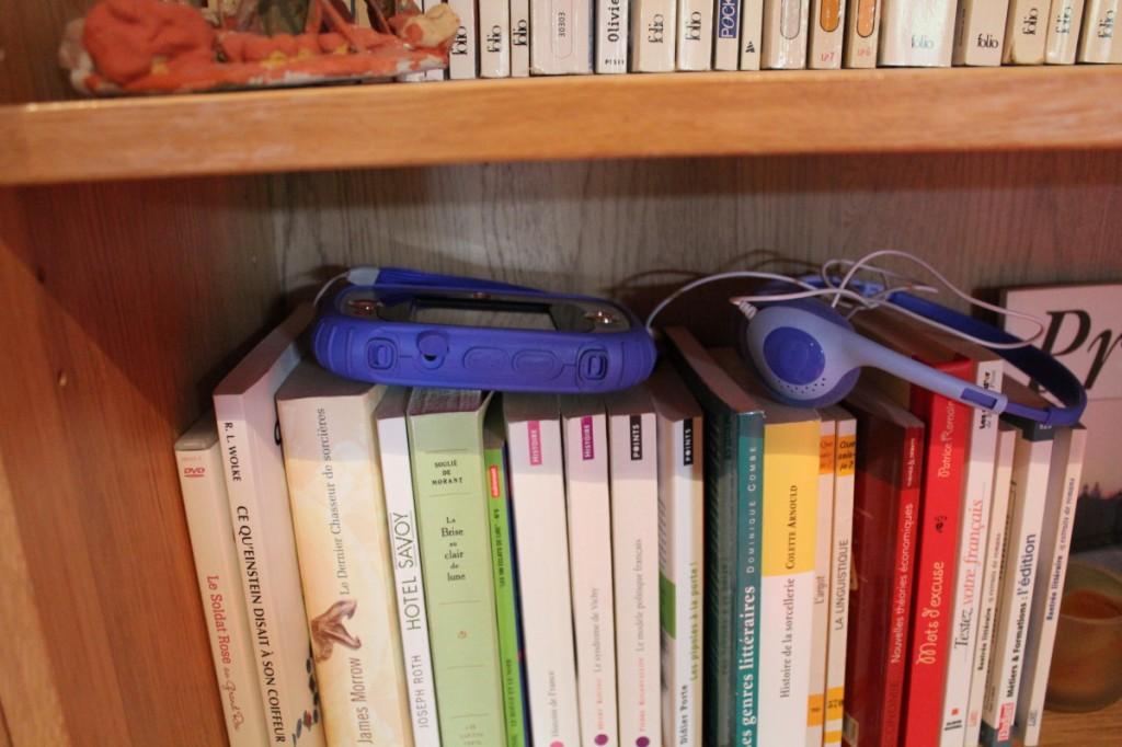 Il y aura bientôt plus d'objets insolites que de livres...