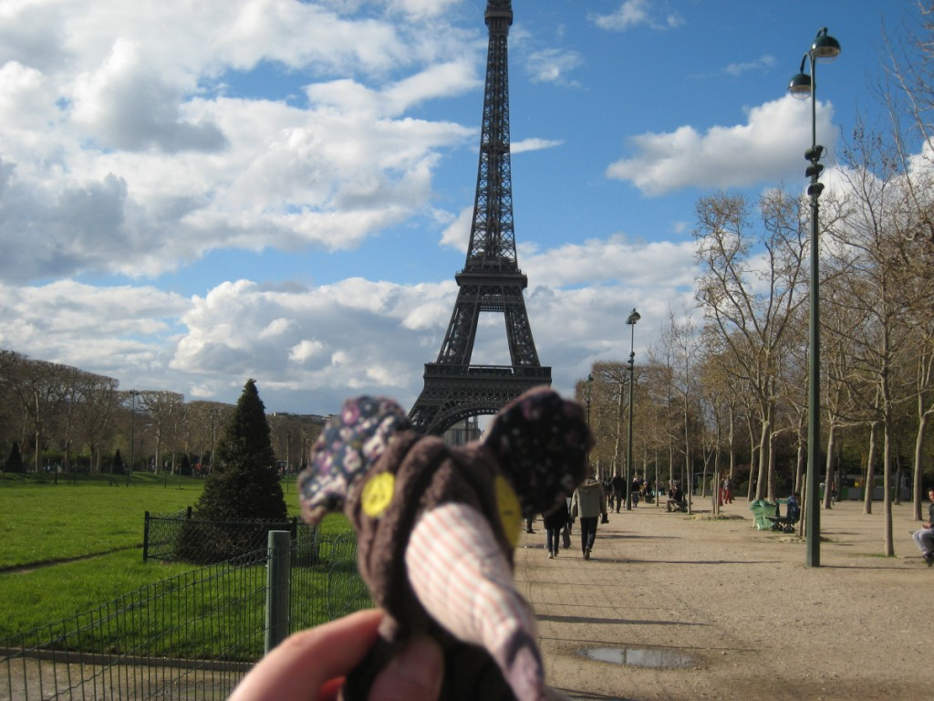 Le doudou a insisté pour faire le touriste de base !