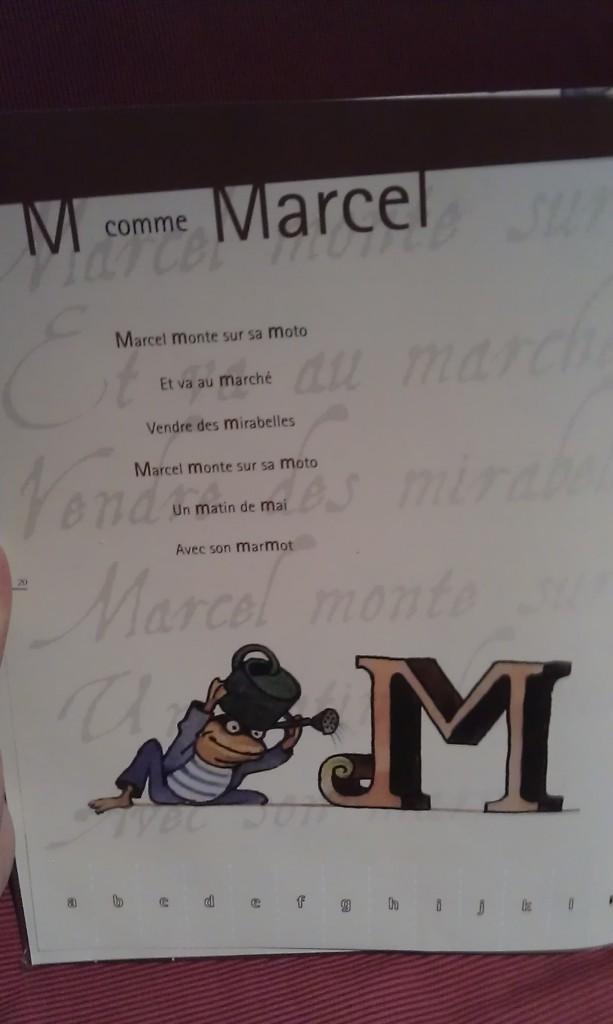 M comme Marcel